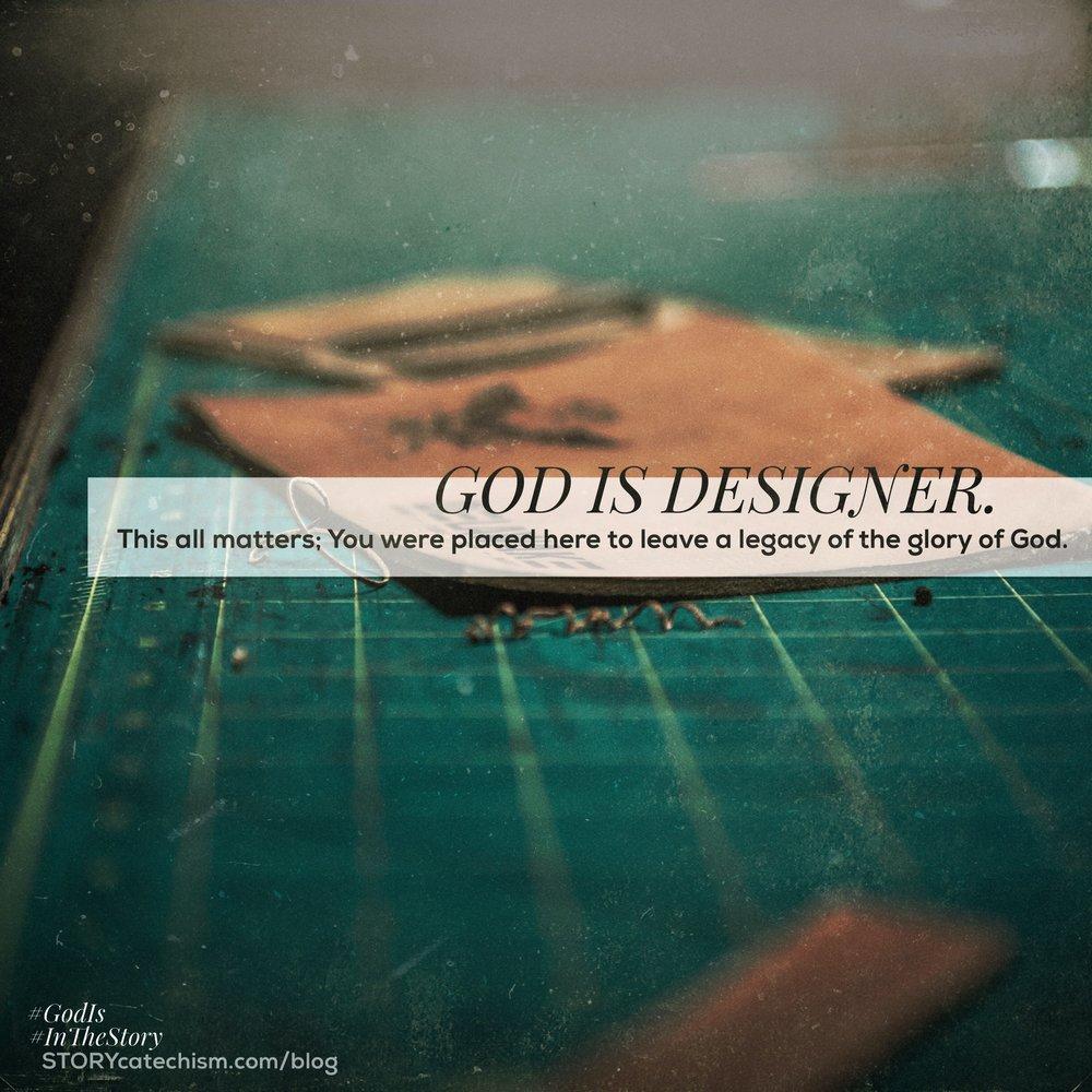 @john_harder's cover photo for 'GOD IS DESIGNER.'