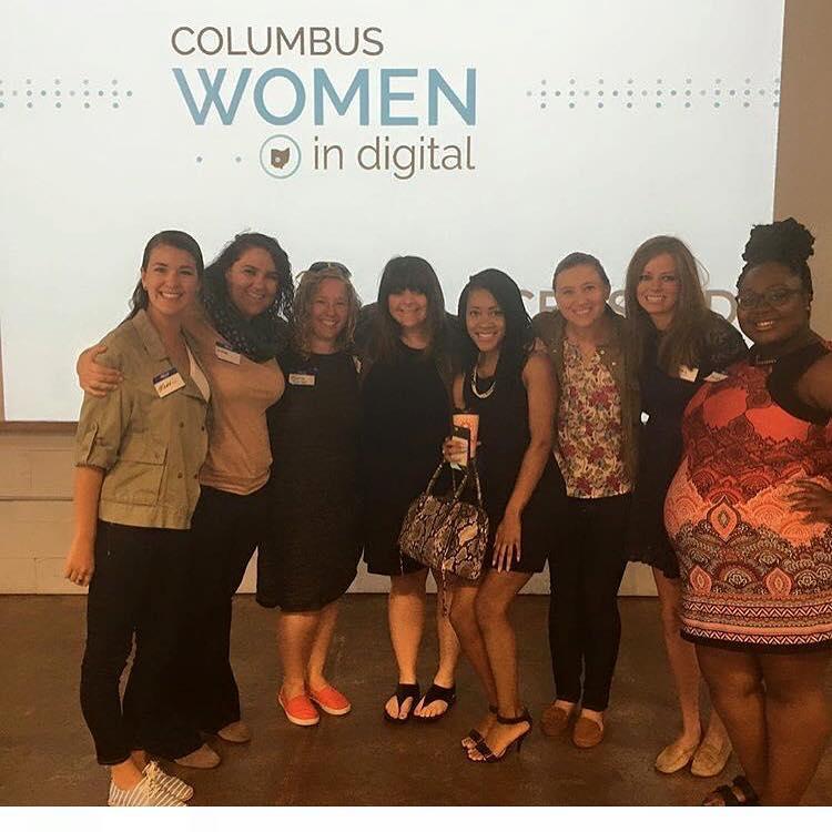 @kelseagunner's cover photo for 'Columbus Women in Digital'