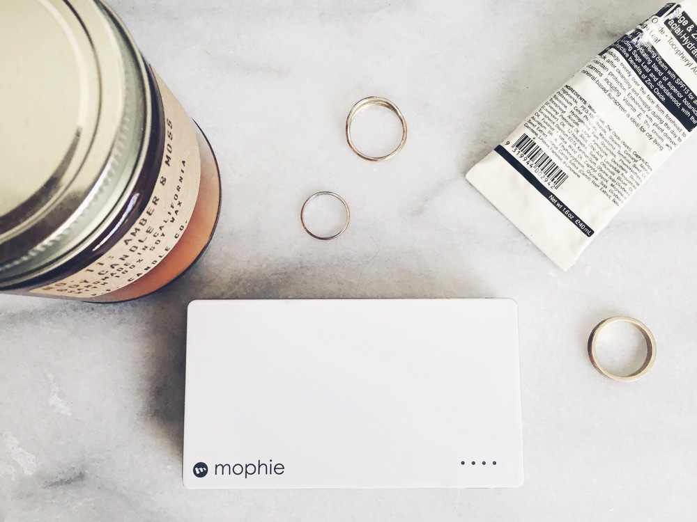 @adrienney's cover photo for 'What I Travel With: Mophie'