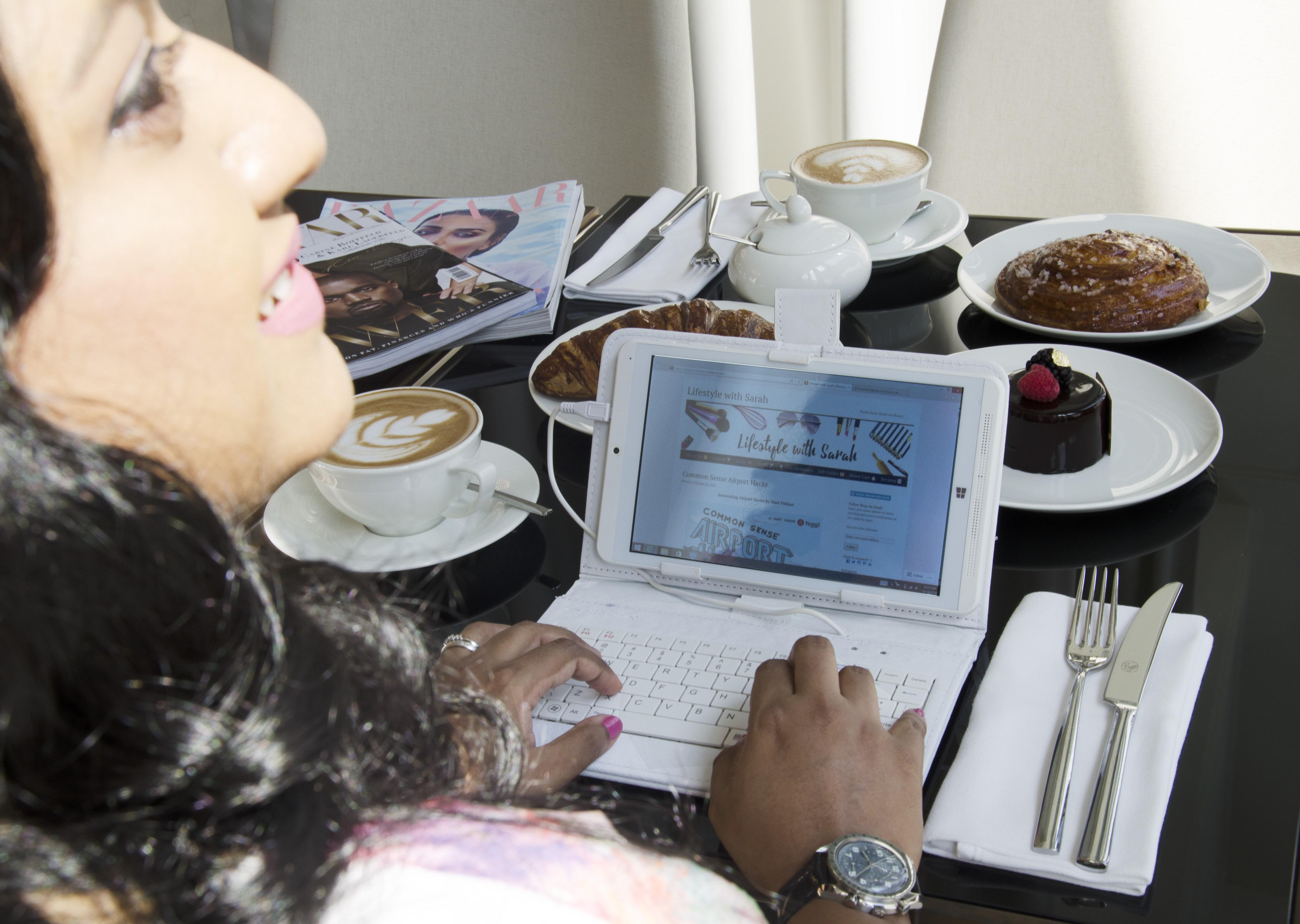 @sarashafni's cover photo for 'My Elekta Tablet Experience.'