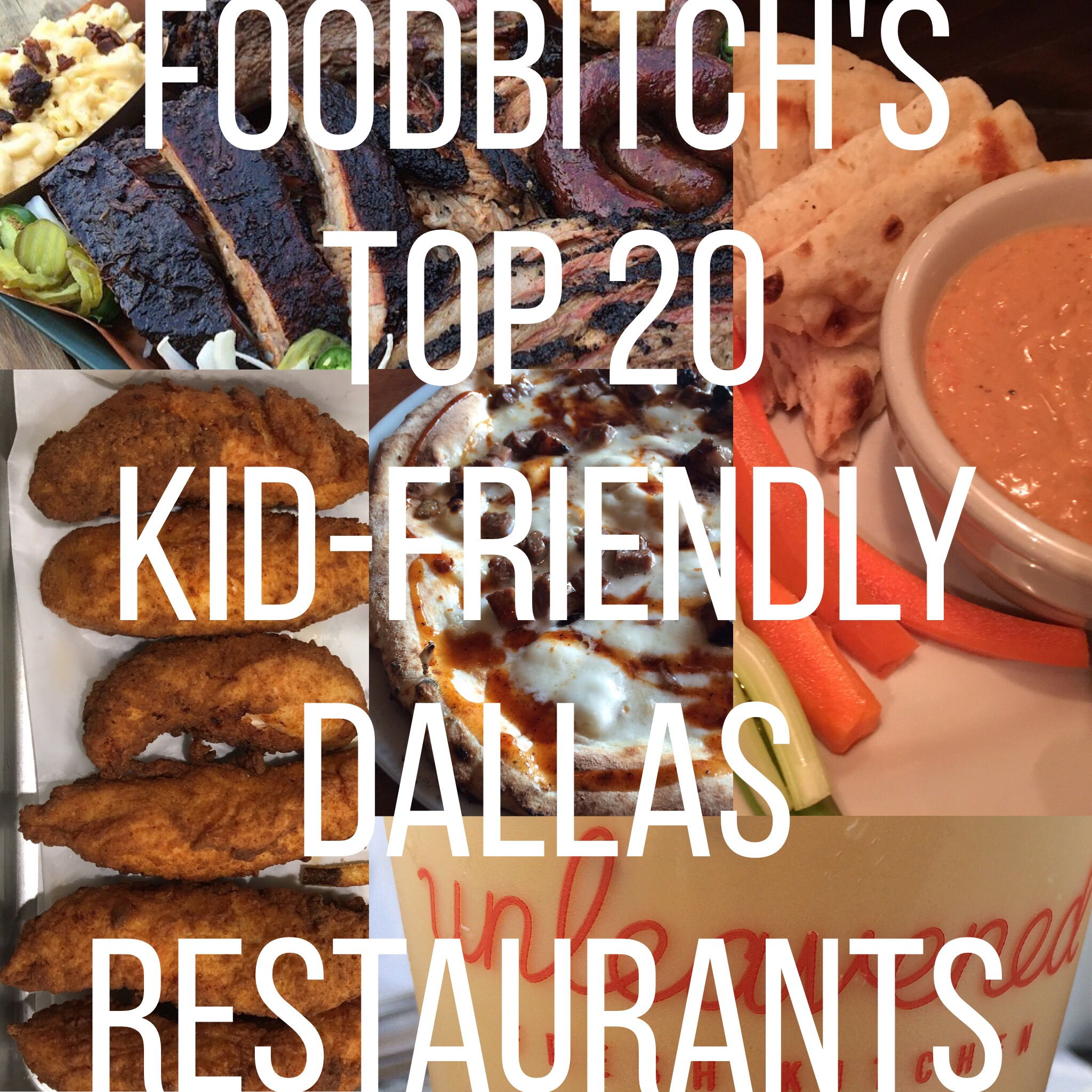 @askfoodbitch's cover photo for 'Top 20 Kid-Friendly Restaurants in Dallas According to Foodbitch'