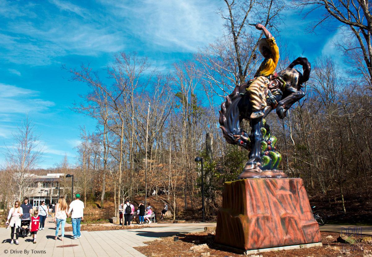 @2lanegems's cover photo for 'Exploring Alice's Wonderland: Crystal Bridges Museum of American Art'