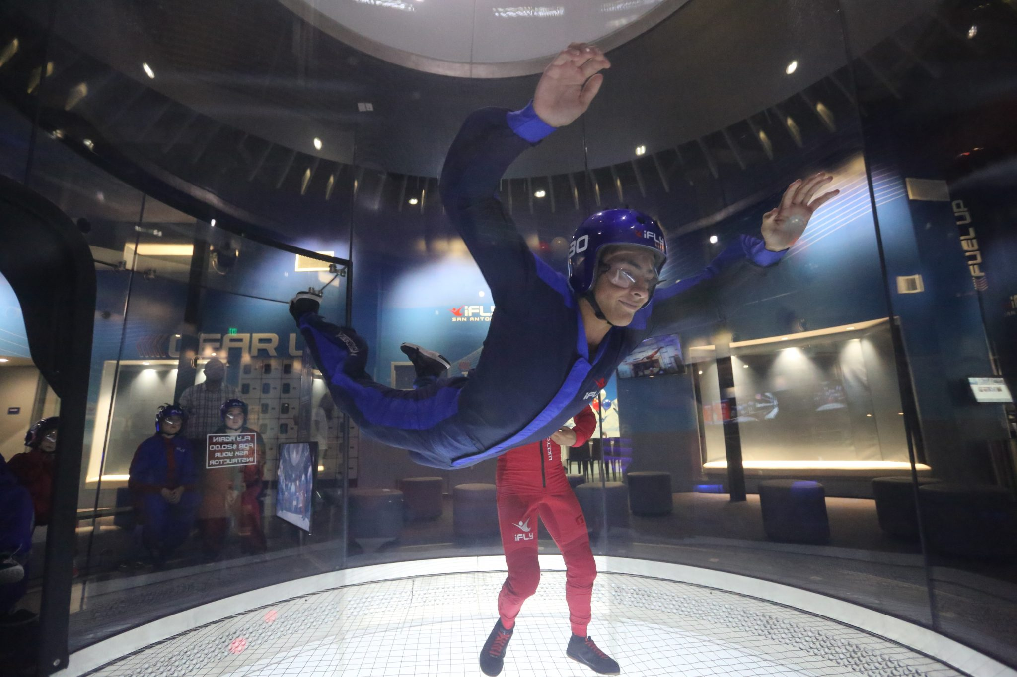 @michelleanncantu's cover photo for 'iFLY San Antonio Experience Indoor Skydiving - A Thrifty Diva'