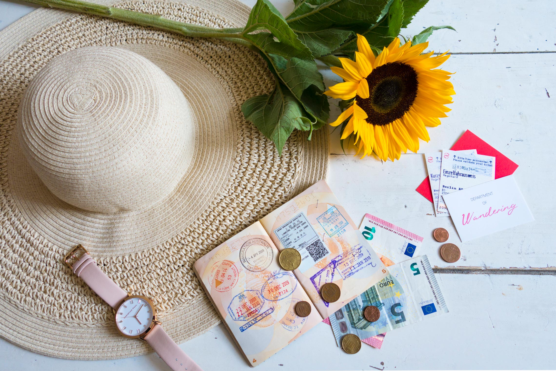 @departmentofwandering's cover photo for '5 Tips for Travelling with Cash Overseas - The Department of Wandering'