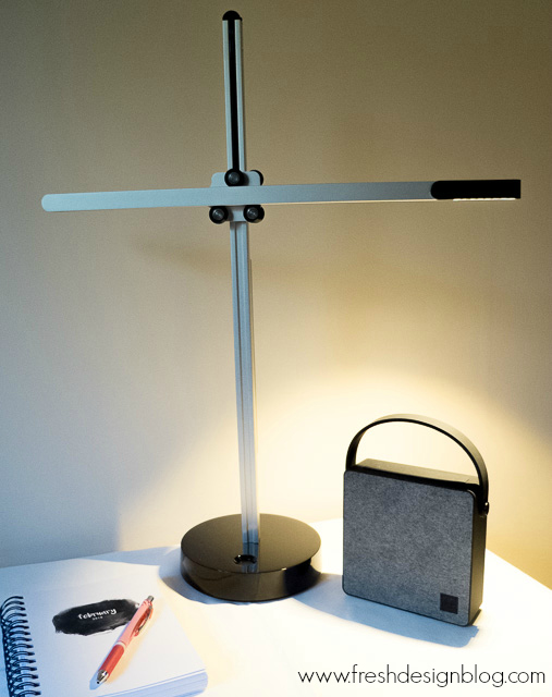 @freshdesignblog's cover photo for 'Modern CSYS Desk task lamp by Jake Dyson: Review'