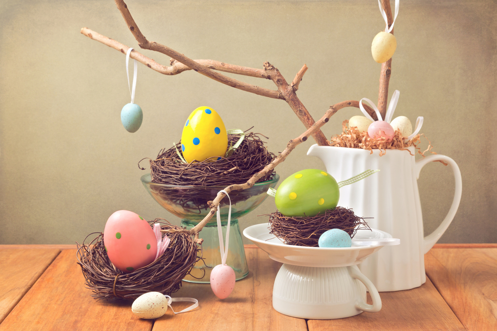@freshdesignblog's cover photo for 'How to Decorate Your Home for Easter'