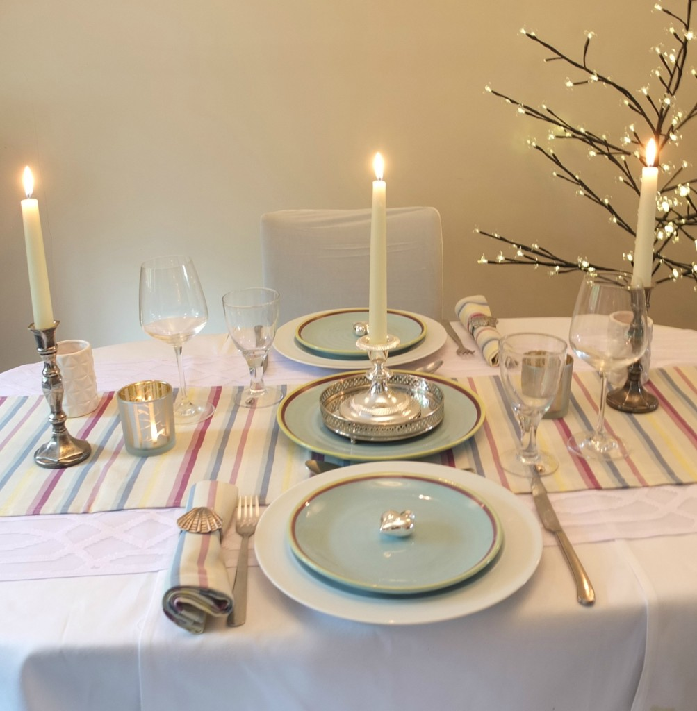 @freshdesignblog's cover photo for 'Dine in style: A romantic dinner for two with Duckydora'