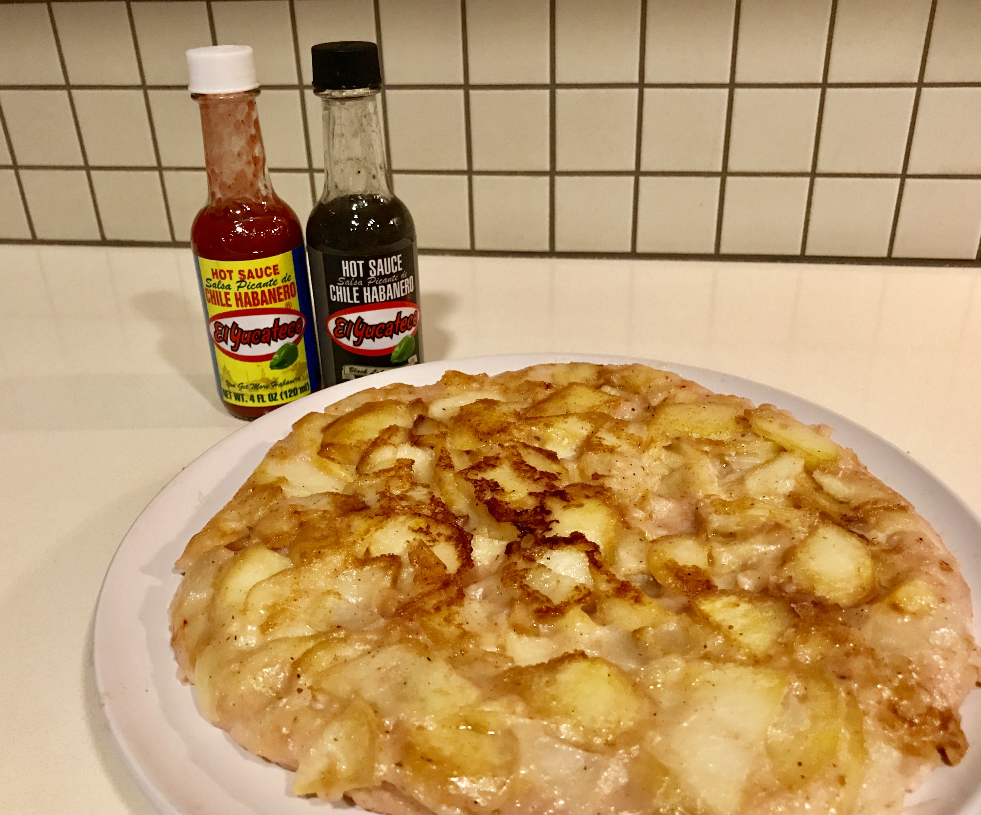 @paullenk's cover photo for 'You need to try this: Spanish tortilla de patatas with El Yucateco® - LyxPlanet'