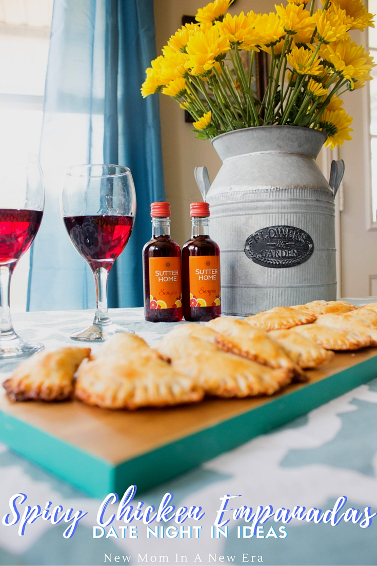 @newmominanewera's cover photo for 'Date Night In Idea: Easy Spicy Chicken Empanadas'