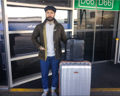 @jaredacquaro's cover photo for 'Travelling with Samsonite Luggage'
