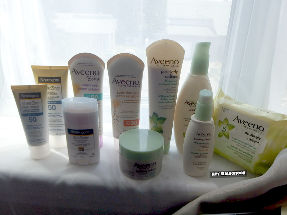 @hey_sharonoox's cover photo for 'Summer Skincare Must-Haves|AVEENO & NEUTROGENA'