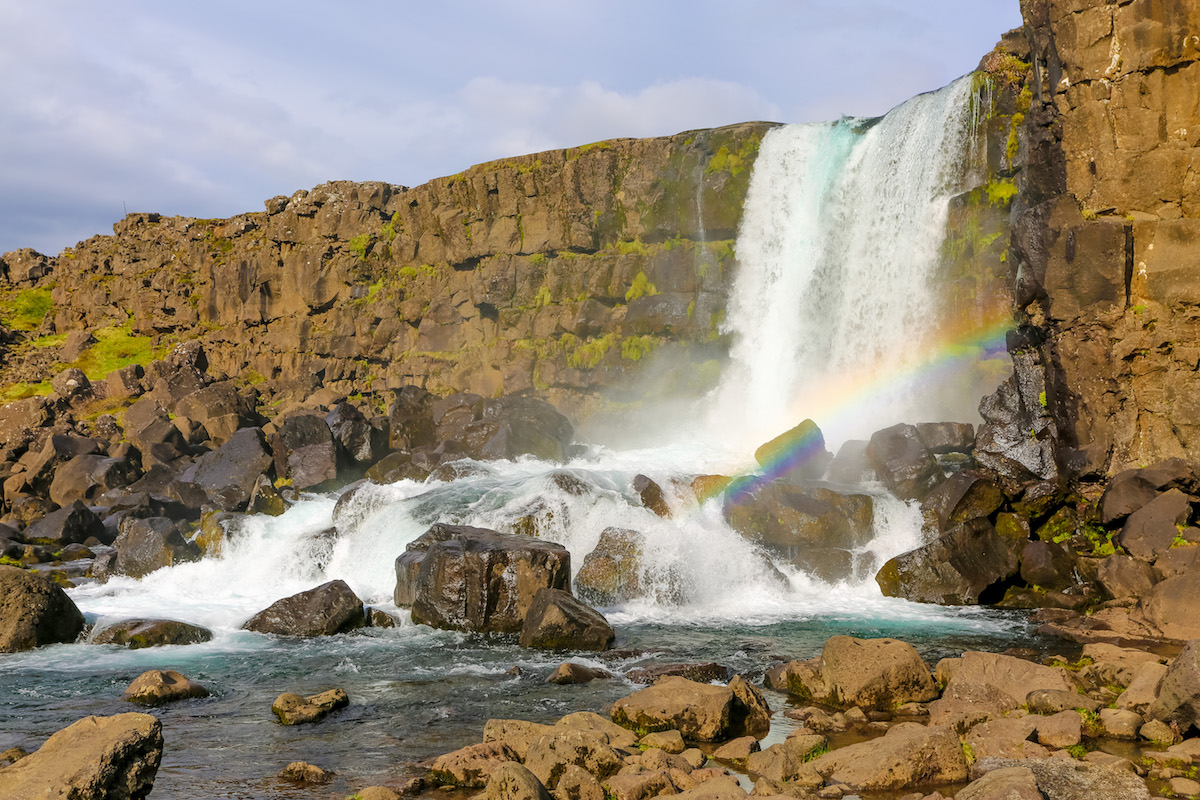 @traveltoblank's cover photo for 'Driving the Golden Circle in Iceland - Travel To Blank Travel Guide'
