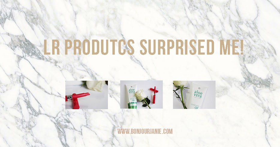 @joanabonjour's cover photo for 'LR PRODUCTS SURPRISED ME!'