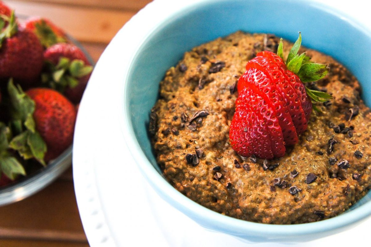 @candycalderon_'s cover photo for 'Chocolate Peanut Butter Chia Pudding (Sugar-Free!)'