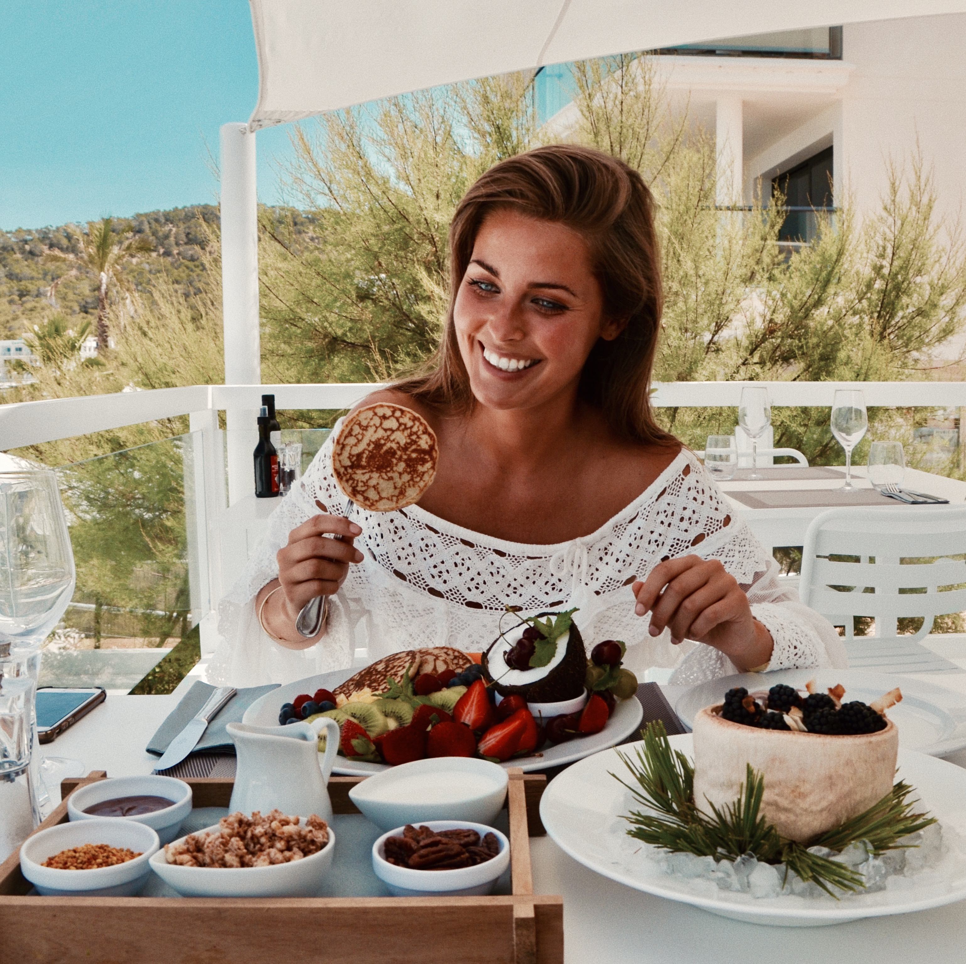 @murielle's cover photo for 'The Best Breakfast of Ibiza: Healthy and Delicious - MURIELLE'