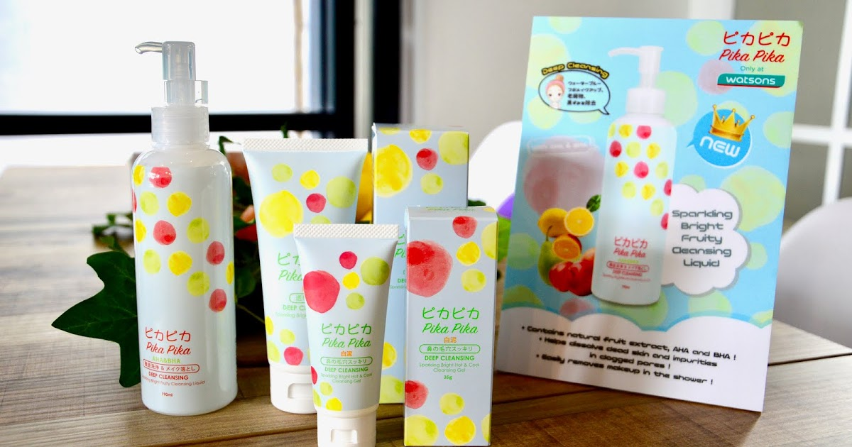 @yanrula's cover photo for 'Yanrula: |EVENT STORY| Pika Pika Sparkling Bright Tea Party by Watsons'