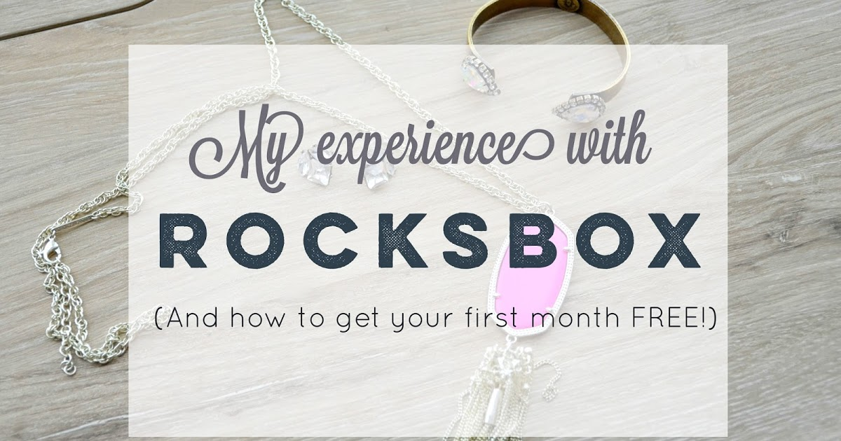 @samantharosesays's cover photo for 'My First Month of Rocksbox (And How to Get Your First Month FREE!)'