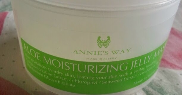@beeleec's cover photo for 'Annie's Way Aloe Moisturising Jelly Mask'