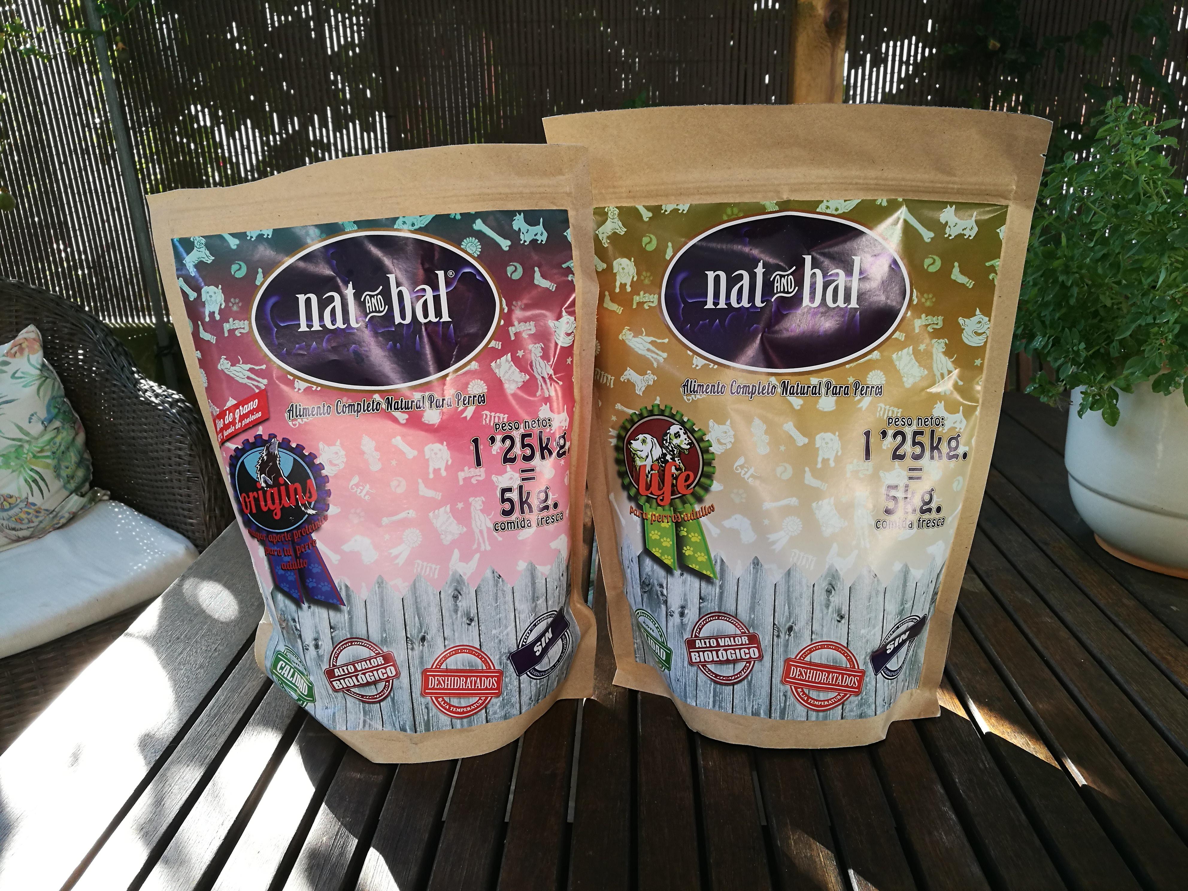 @blogdeuma's cover photo for 'Nat and Bal: Alimento deshidratado completo y natural para perro - El Blog de Uma'