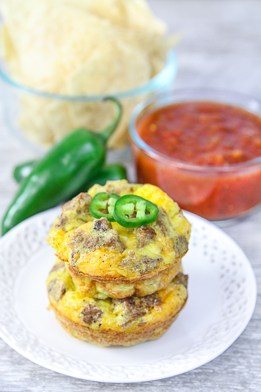 @foodfash's cover photo for 'Breakfast Taco Egg Muffins - FoodFash'
