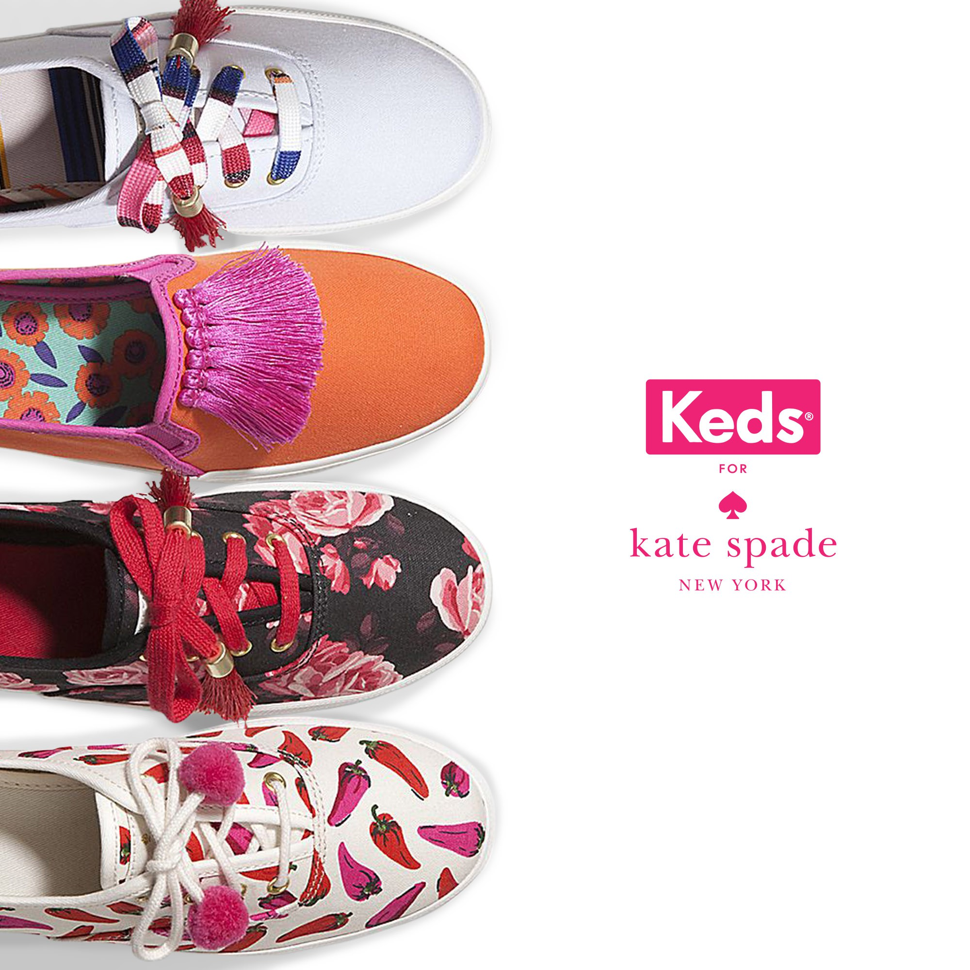 @iangalliguez's cover photo for 'Keds: New Court Classics and the Kate Spade Collab'