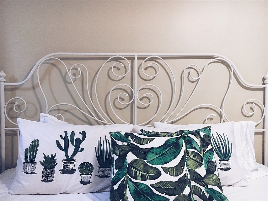 @thebrashbrunette's cover photo for 'i spy cacti: master bedroom refresher'