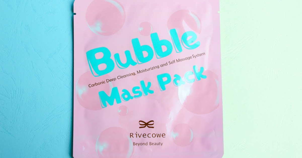@yanrula's cover photo for 'Yanrula: |REVIEW| [JOLSE] Rivecowe Bubble Mask Pack Review'