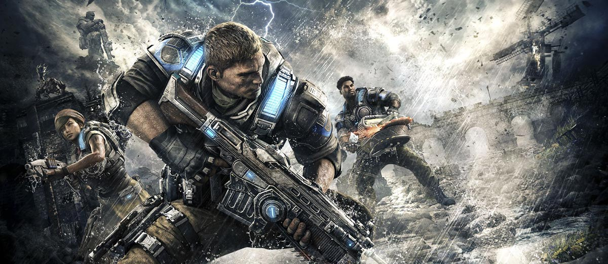@cherylswarlez's cover photo for 'Review: Gears of War 4 Lances Ahead With New Blood'