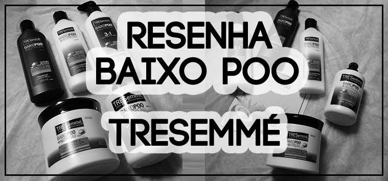 @blogaromadecachos's cover photo for 'Aroma de Cachos: Resenha Tresemmé linha Baixo Poo'