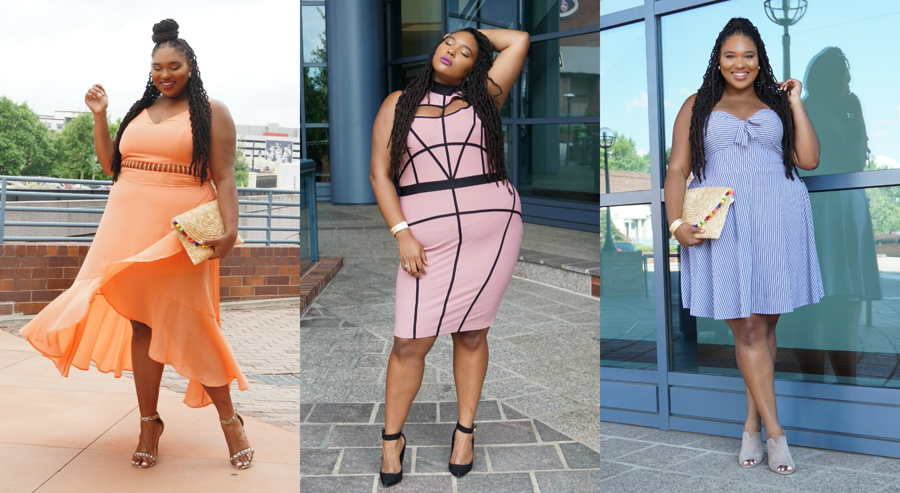 @thickgrlscloset's cover photo for 'What I Wore to TCFstyleExpo- A Thick Girl's Closet'
