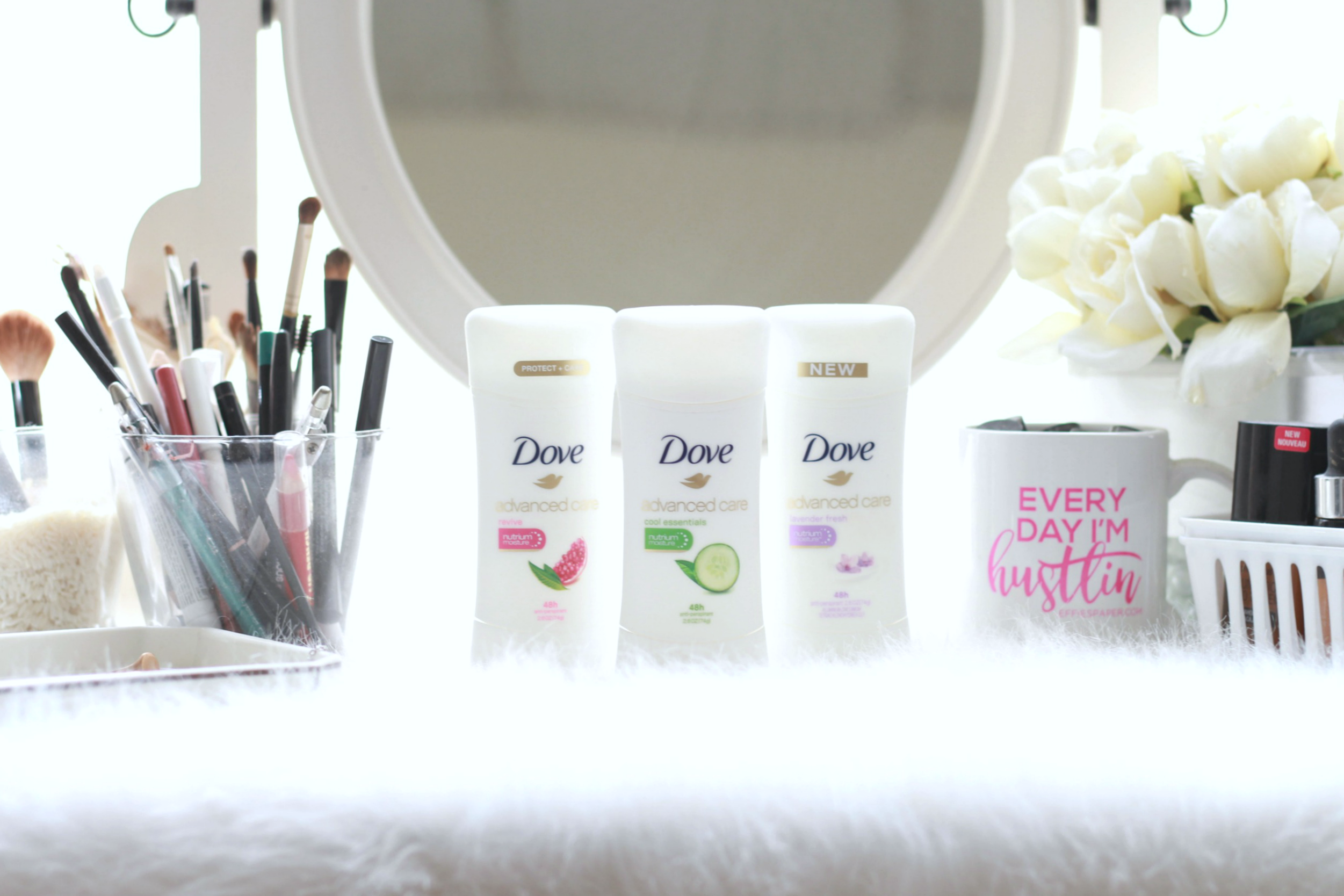 @thickgrlscloset's cover photo for 'Staying Fresh with Dove Advance Care Deodorant- A Thick Girl's Closet'