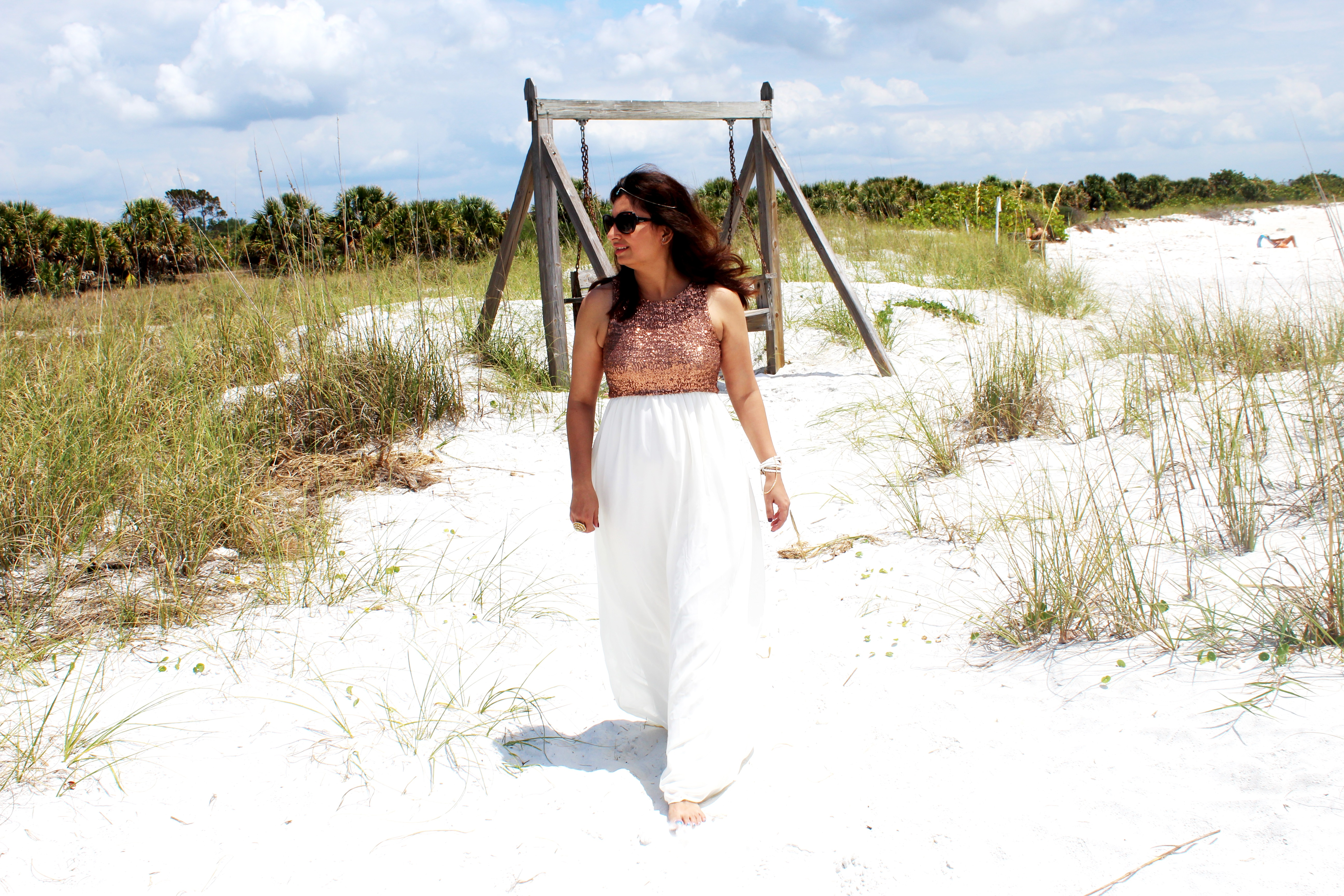@ana__s__world's cover photo for 'Fashion With Pink Blush   A Fairy Tale Fantasy at Honeymoon Island, Florida'