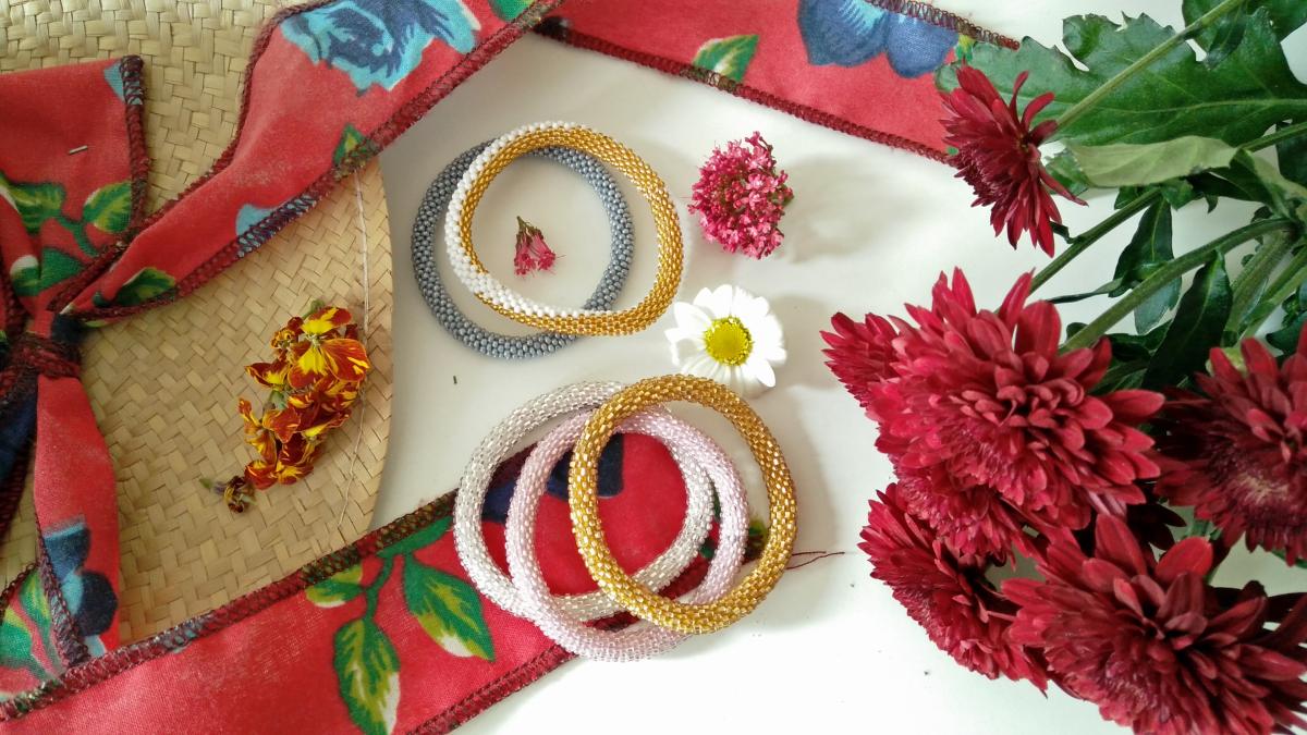 @newlabelsonly's cover photo for 'Sashka Co. Handmade Bracelet from Kathmandu Valley of Nepal!'