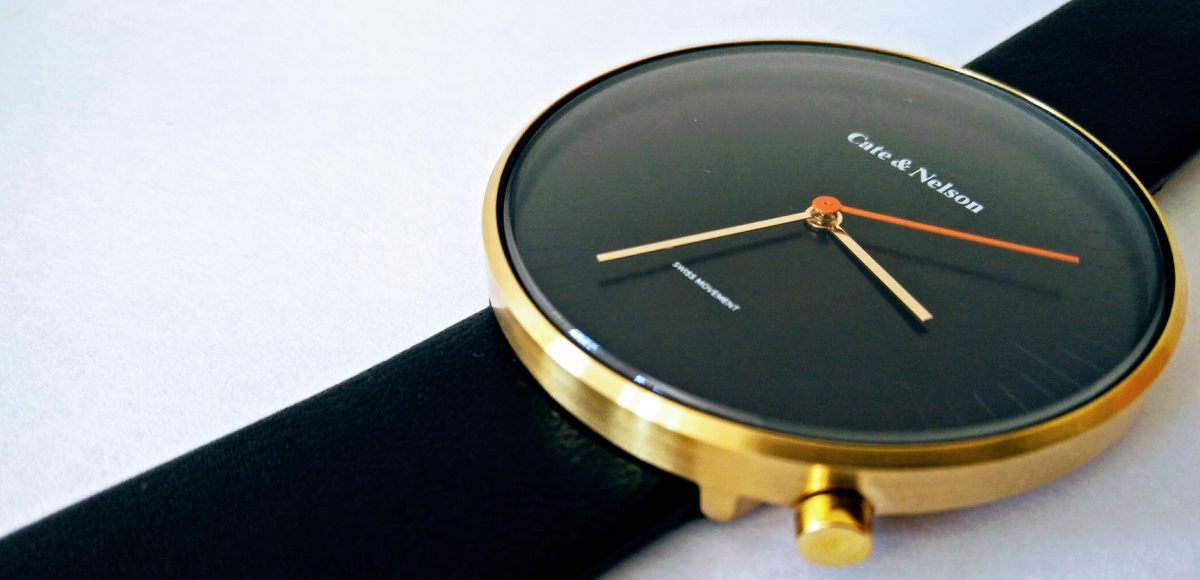 @newlabelsonly's cover photo for 'Cate & Nelson No 162 Watch. An Iconic Minimalistic Timepiece!'