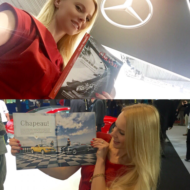 @inessasworld's cover photo for 'STYLING FOR MERCEDES BENZ CLASSIC MAGAZIN - Inessafashioness.com'