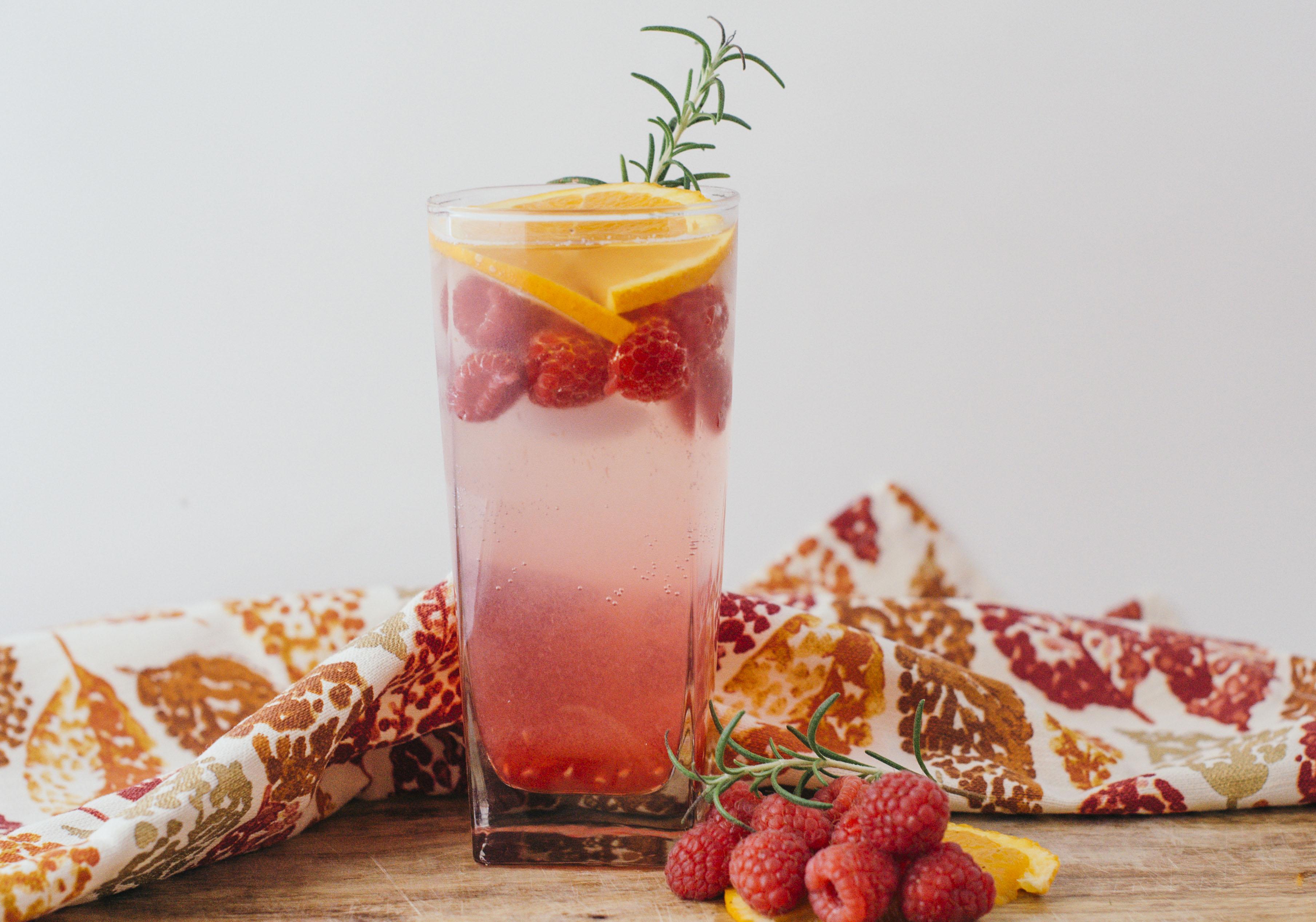 @madeleineraifordholland's cover photo for 'Harvest Sparkler Mocktail - Moderately High Maintenance'