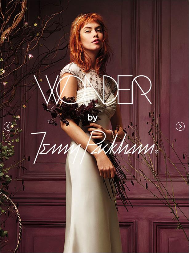 @bodasdelencanto's cover photo for 'David's Bridal Presents: Wonder by Jenny Packham'