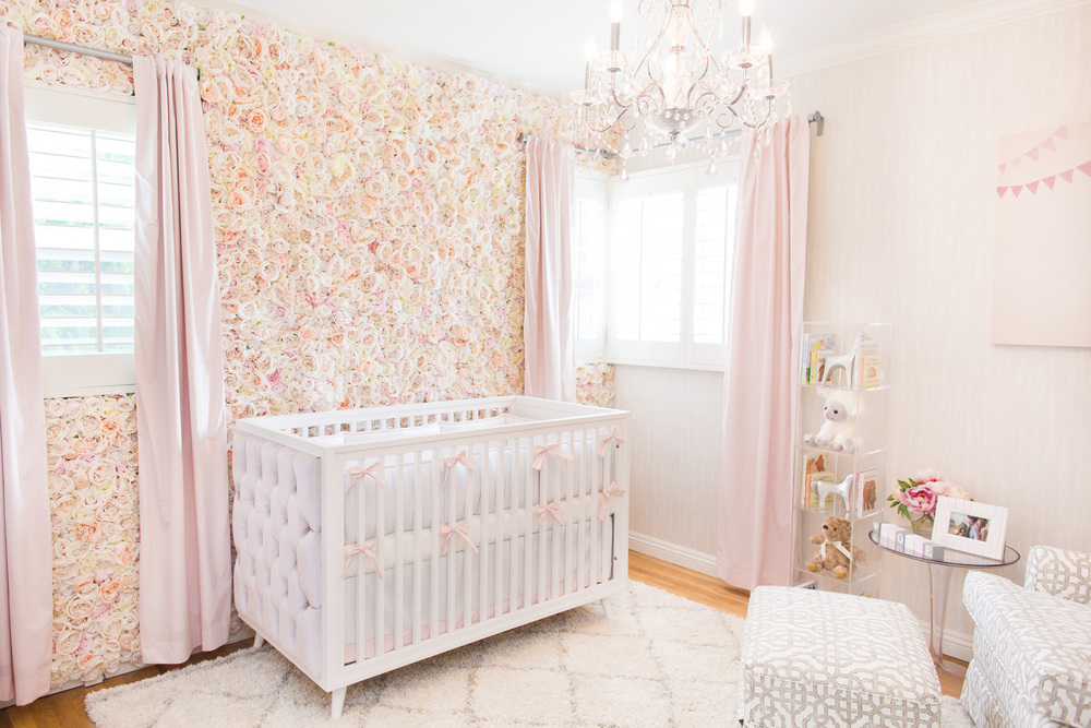 @vanessaantonelli's cover photo for 'Ali Fedotowsky - Fancifully Floral Nursery Reveal'