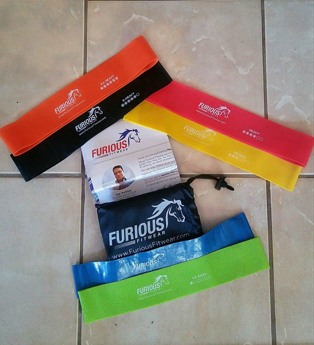 @jillian_dworak's cover photo for 'Furious Fitwear Resistant Band Loops'