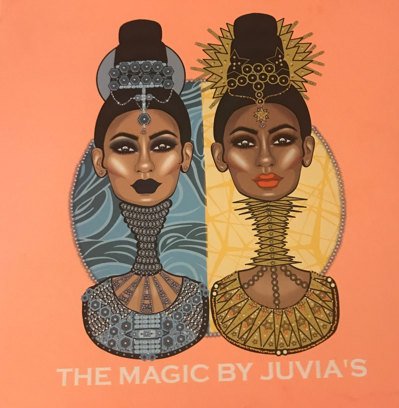 @beatsbykd's cover photo for 'Swatches: The Magic Palette By Juvia's Place'