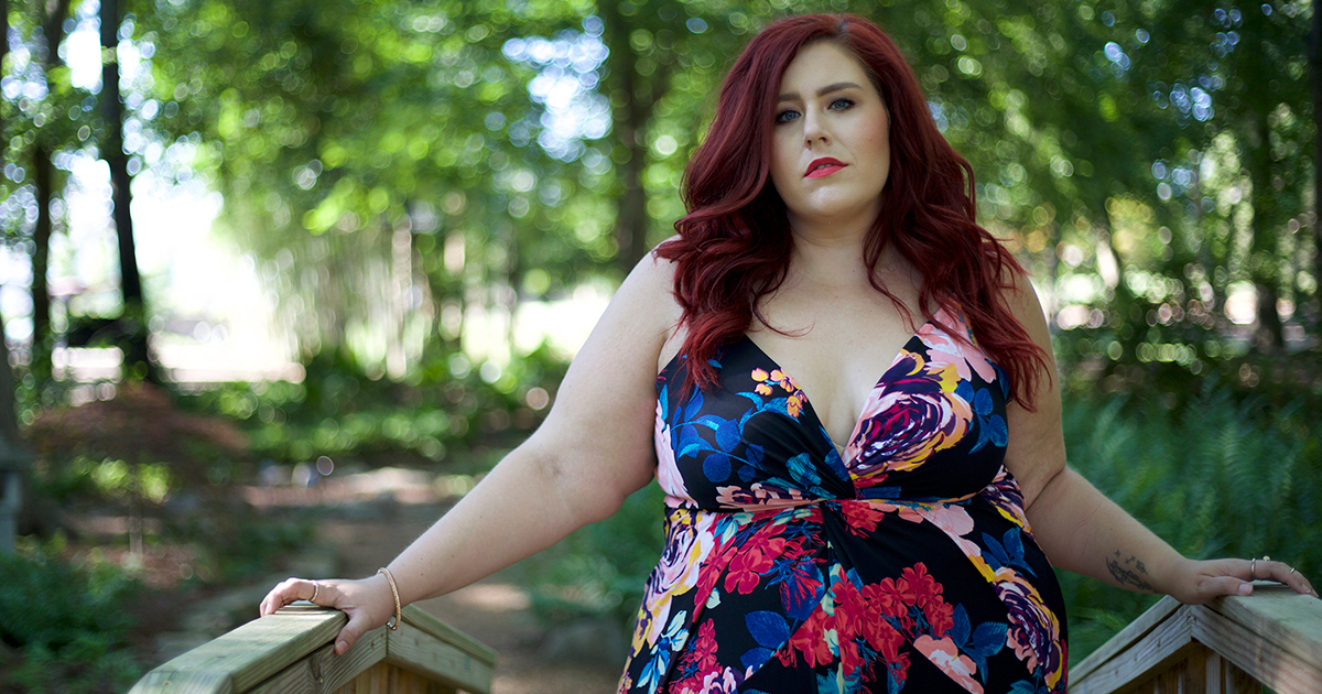 @curves_curlsandclothes's cover photo for 'Plus Size Flower Bomb Jumpsuit | Curves, Curls and Clothes'