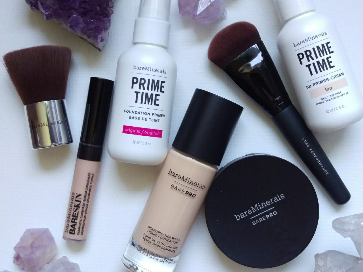 @ninesacloud's cover photo for 'A few bareMinerals faves from QVC'