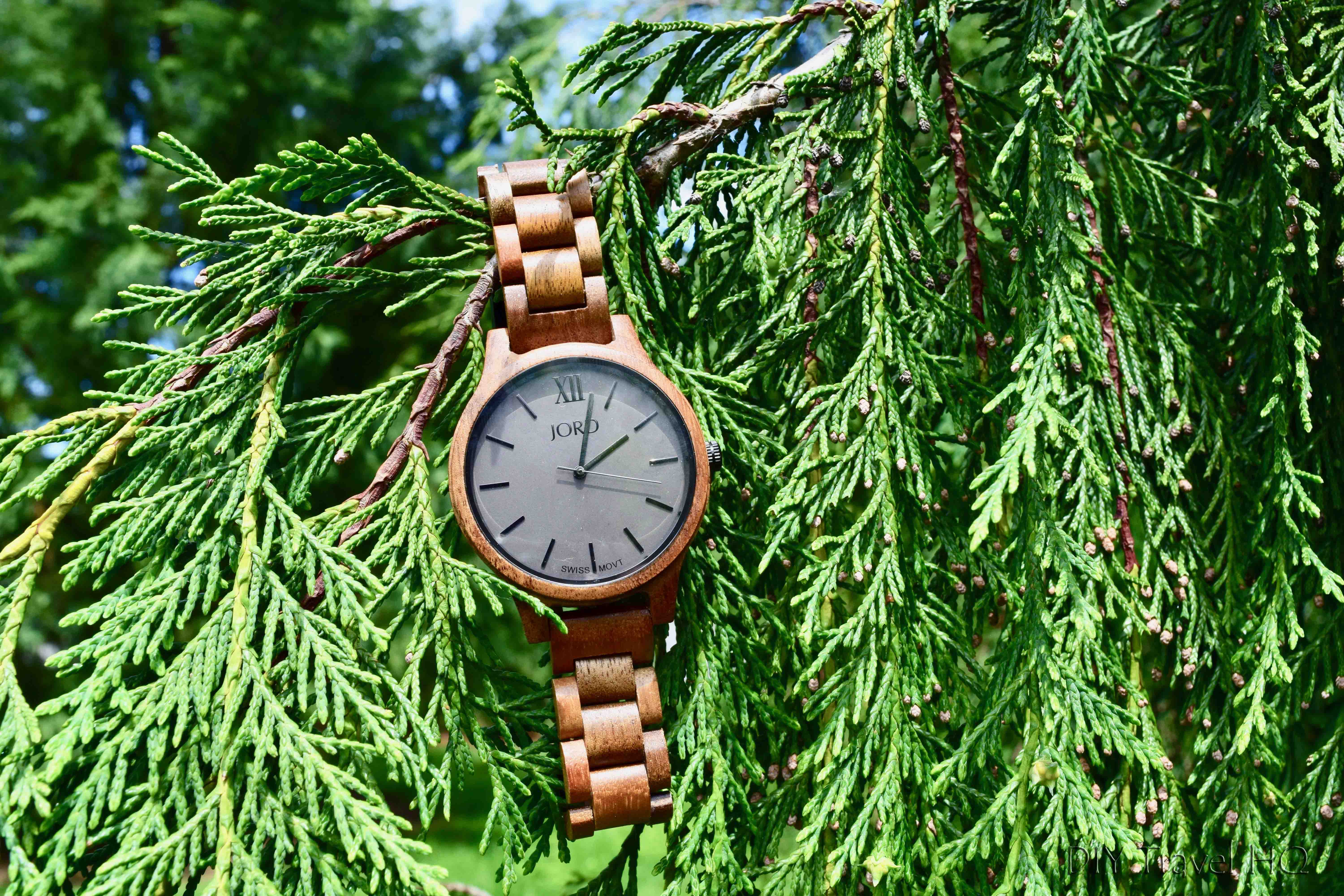 @diytravelhq's cover photo for 'JORD Wood Watches: Eco-Friendly Gift for Travelers - DIY Travel HQ'