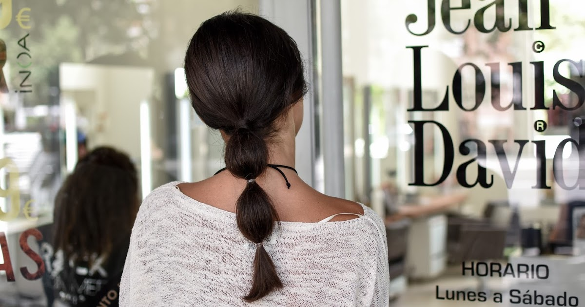 @elblogdesilvia's cover photo for 'Braided bubble hairstyle'