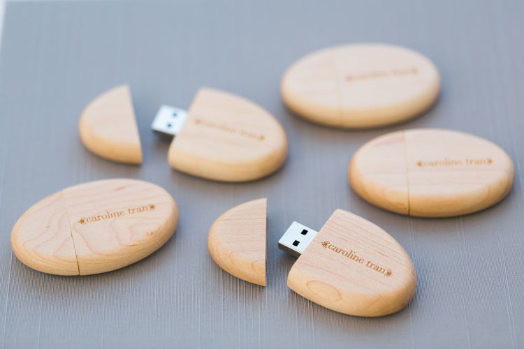 @carolinetran's cover photo for 'Custom Flash Drives - Caroline Tran | Los Angeles Wedding Photographer'