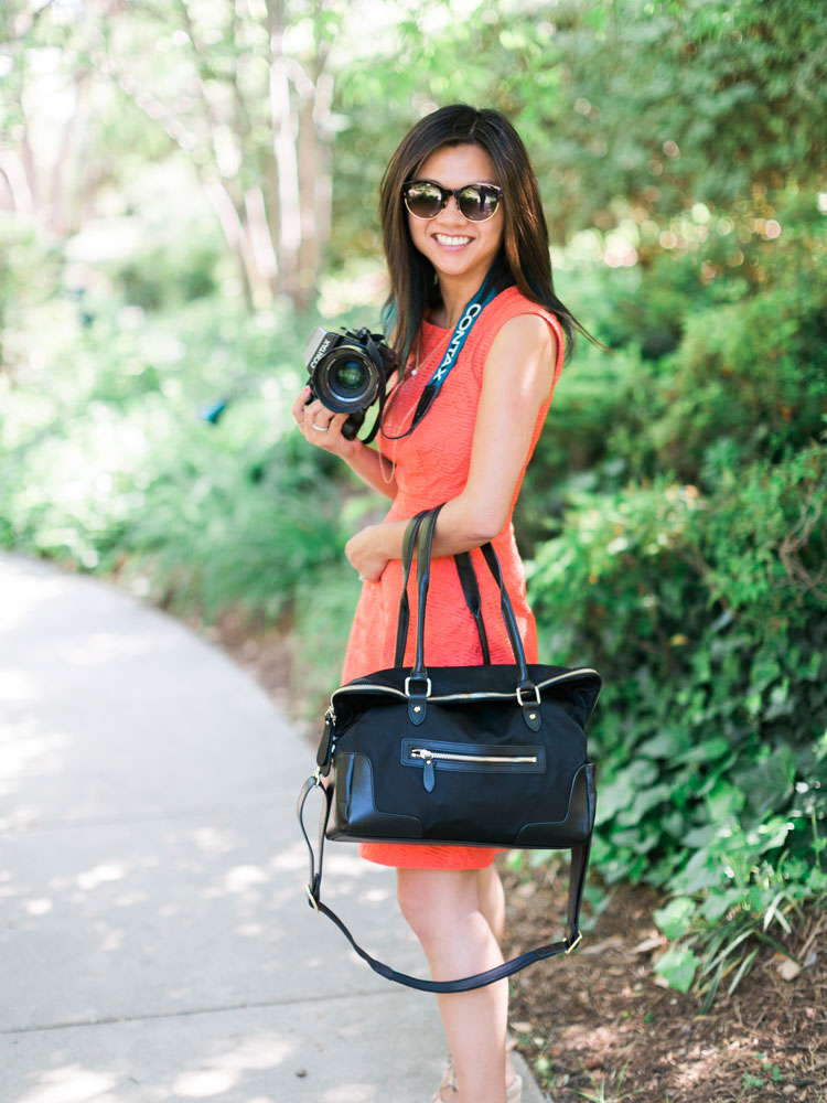 @carolinetran's cover photo for 'Best Camera Bag Purse | Aide de Camp - Caroline Tran | Los Angeles Wedding Photographer'