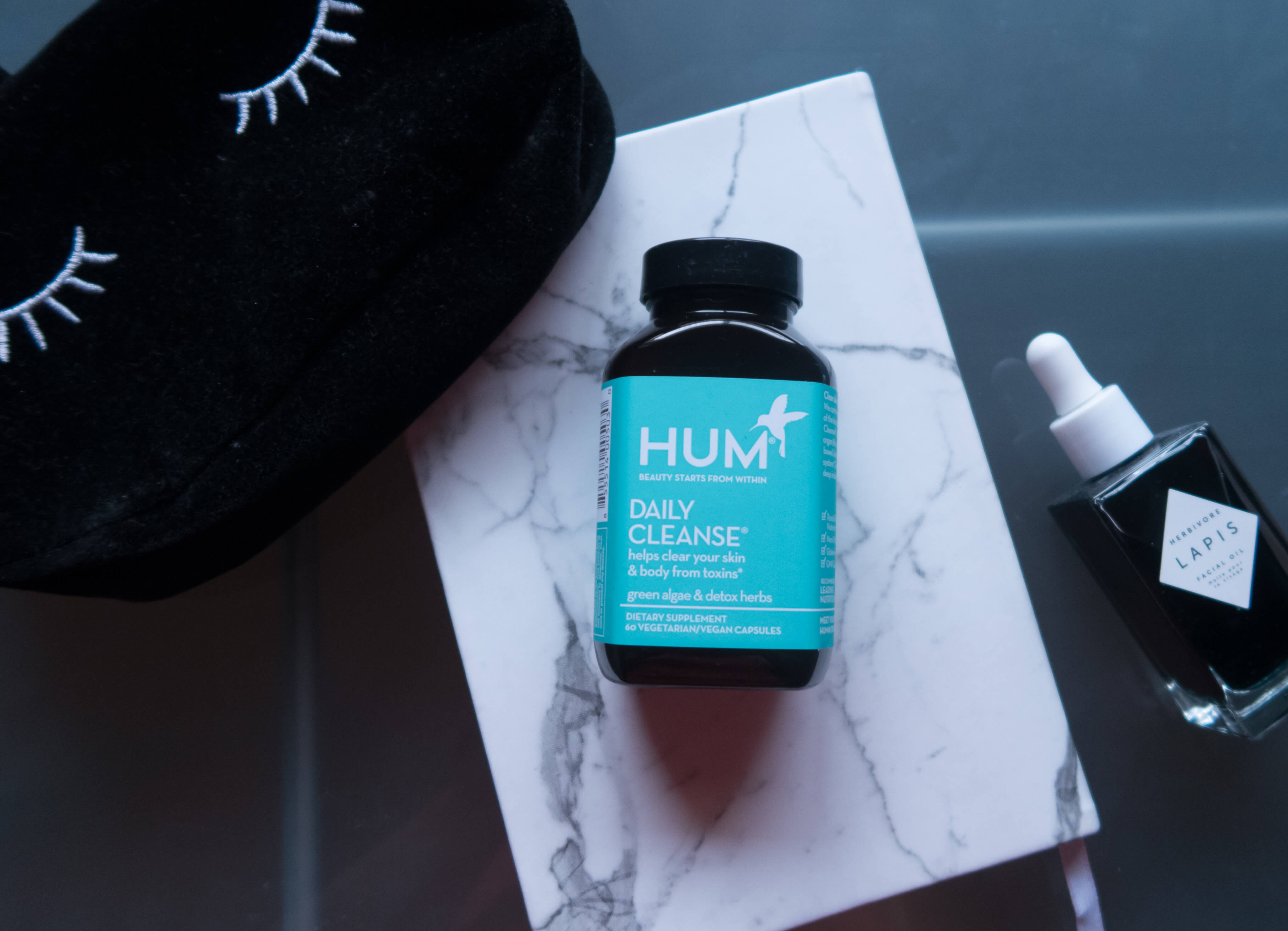 @jacfruits's cover photo for 'Hum Nutrition Daily Cleanse Made My Skin Glow! Beauty Supplements'