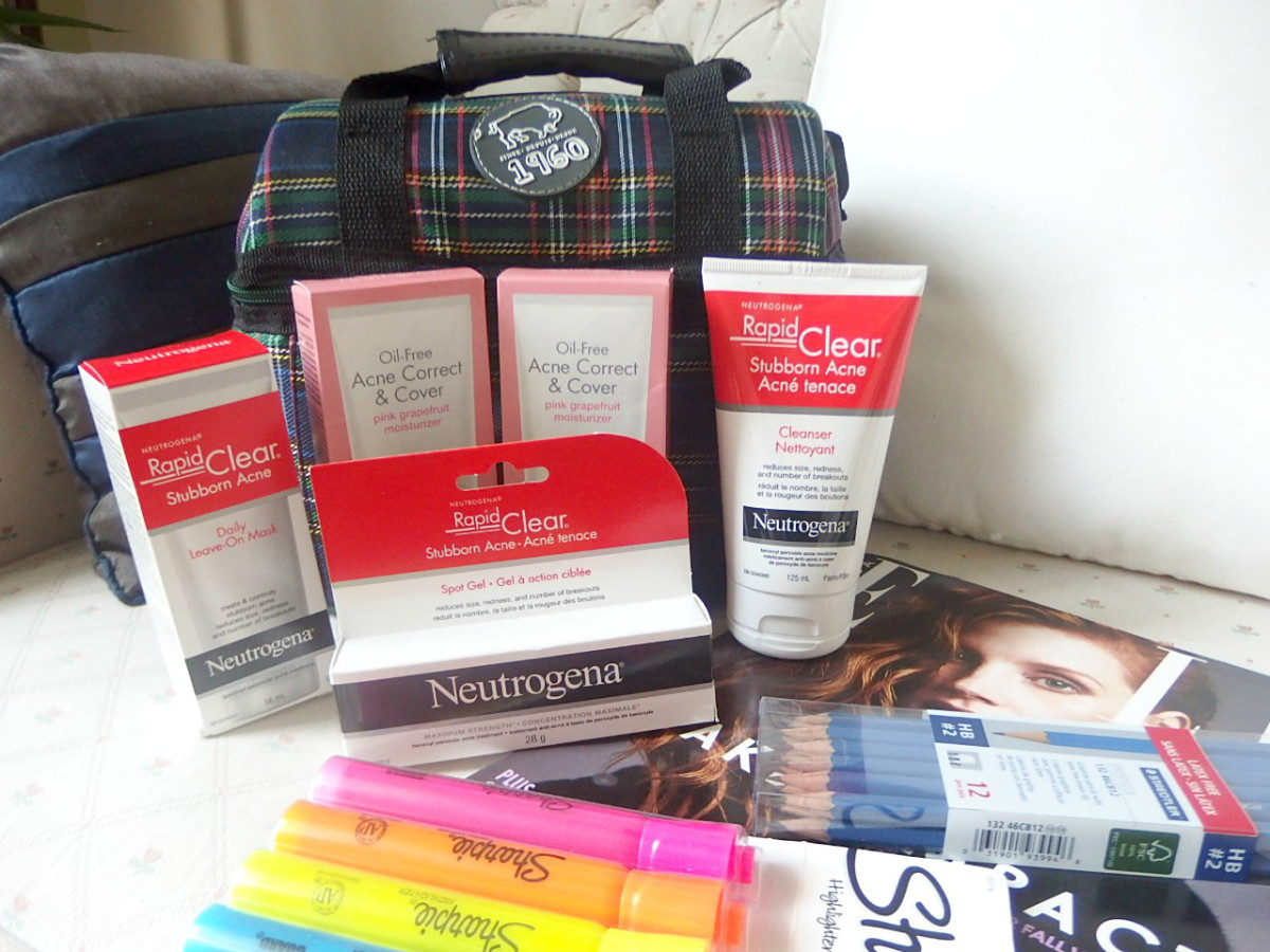 @hey_sharonoox's cover photo for 'Neutrogena Back To School Supplies'