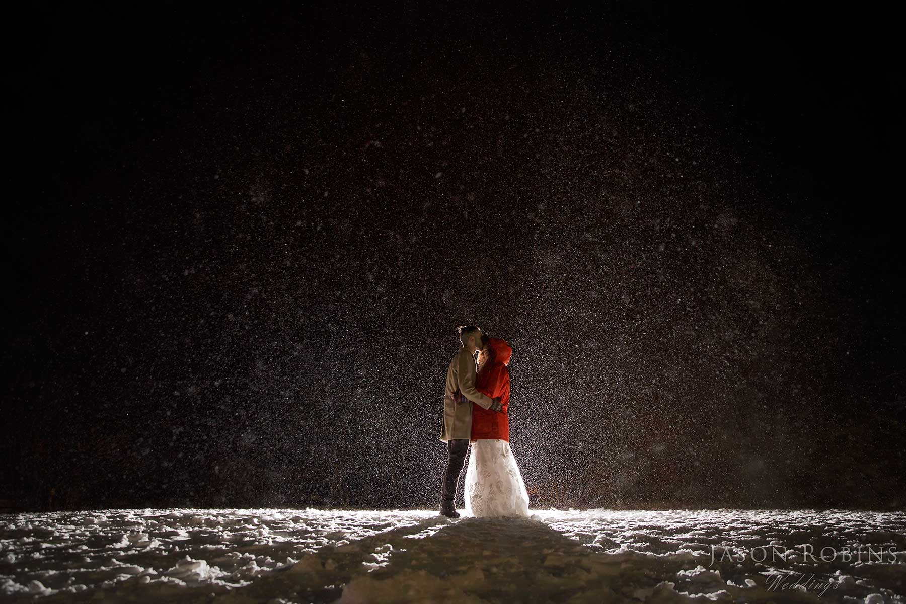 @jasonrobinsphotographyau's cover photo for 'Winter Snow Wedding Dinner Plain Mt Hotham Victoria'
