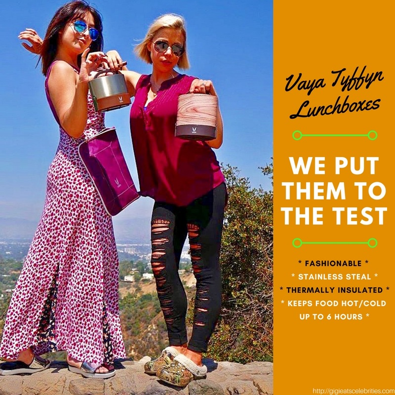 @gigieats's cover photo for 'Check Out My Box... The Vaya Tyffyn Lunchbox Experiment | GiGi Eats Celebrities'